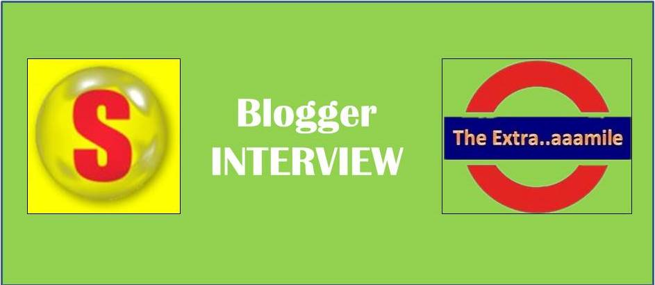 BLOGGER INTERVIEW (Savio: The Author of 'Goin' the Extra…aaamile' Blog)