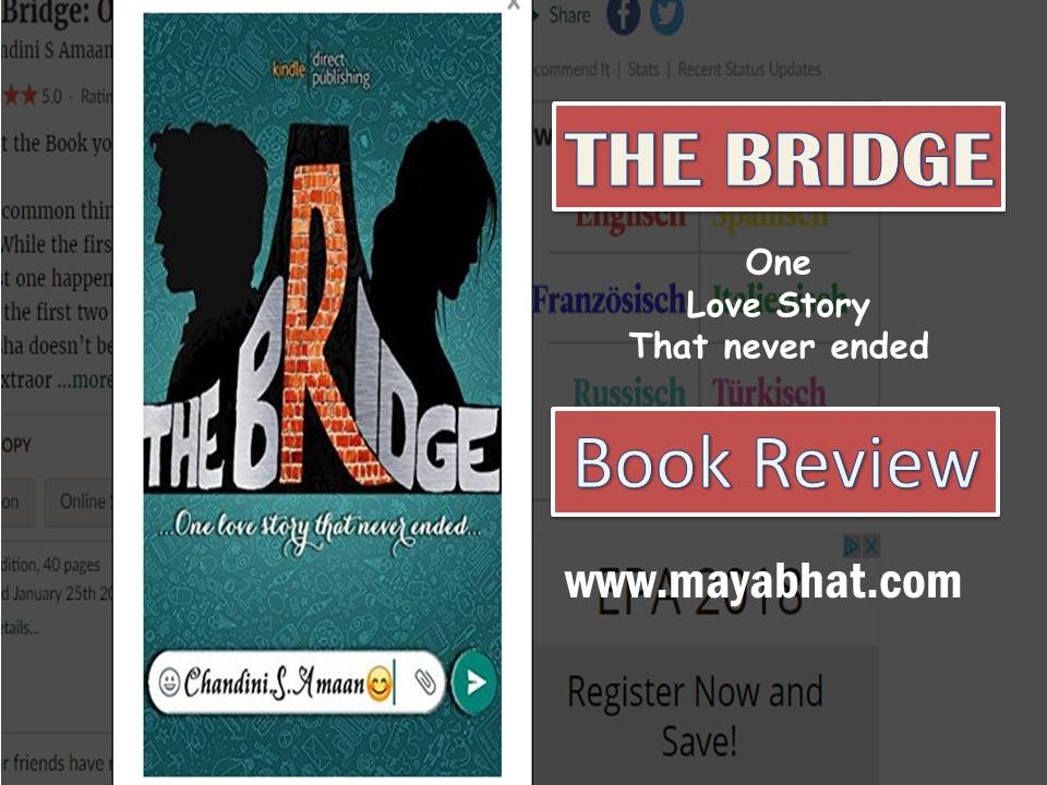 The Bridge: One love story that never ended. (Book Review)