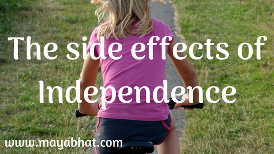 The side effects of Independence (Short Story)