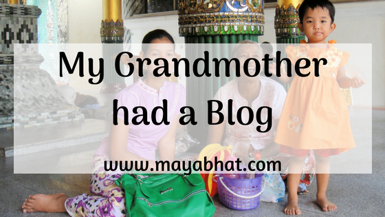 My Grandmother had a Blog (Short story)