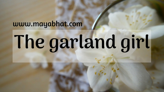 The garland girl