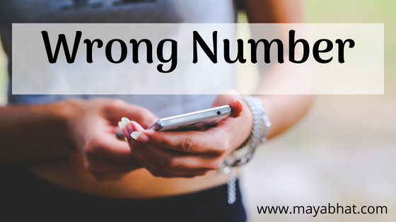 Wrong Number (Flash fiction)