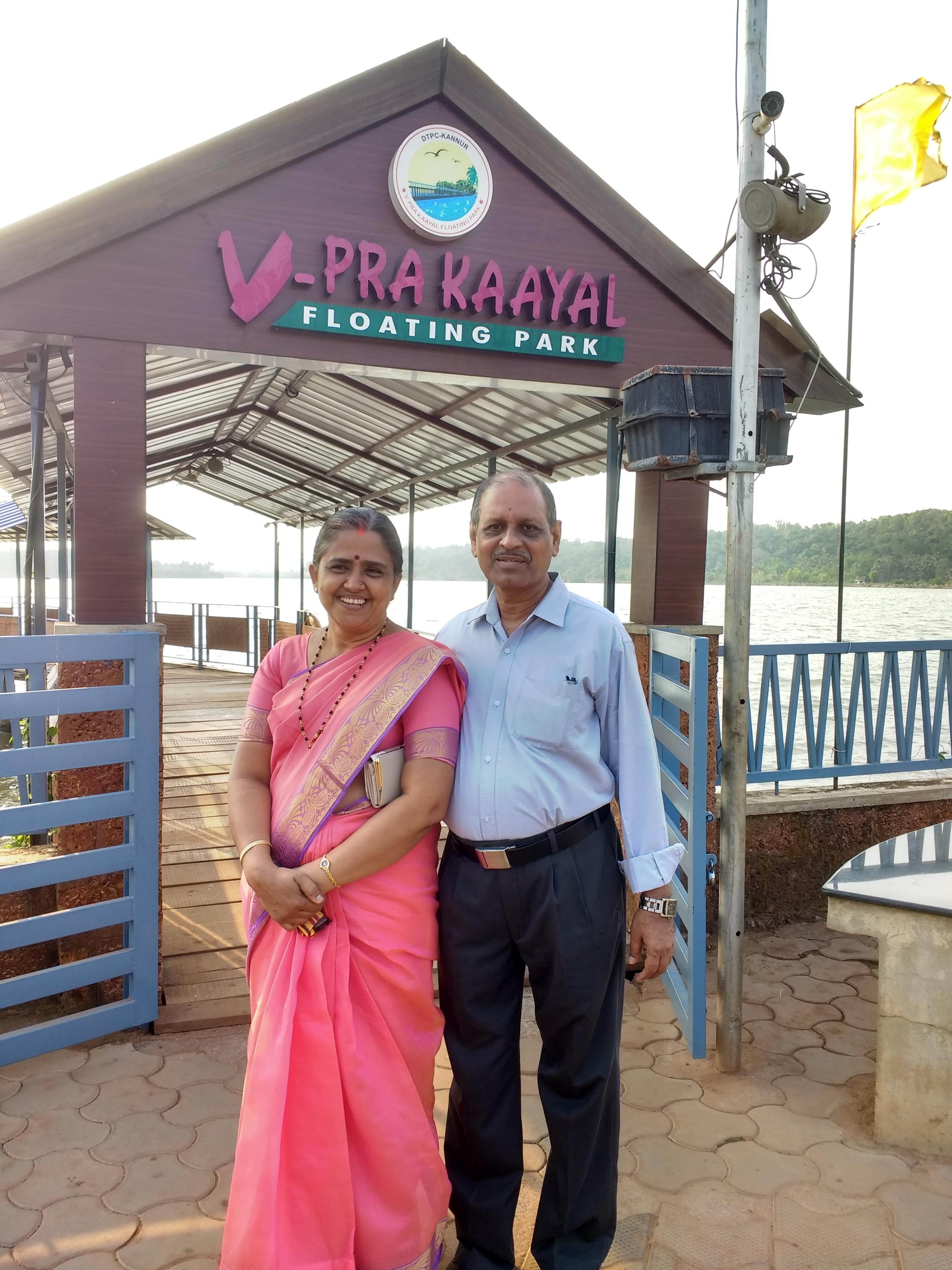 Maya Bhat's parents