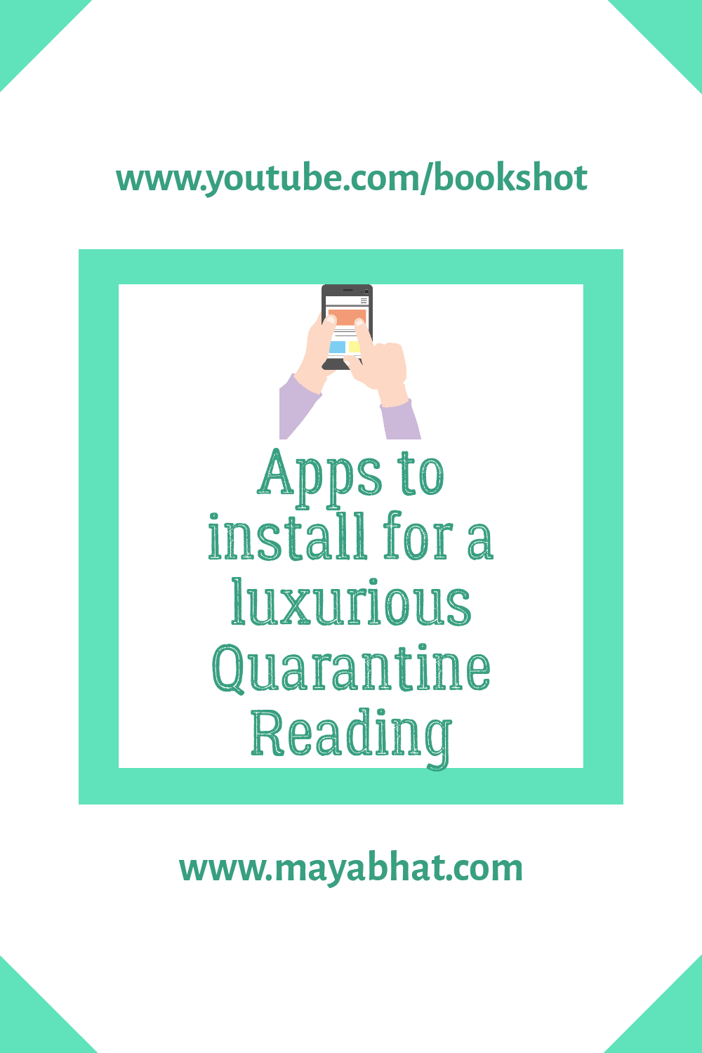 Apps for quarantine reading